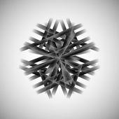 Vector monochrome pattern techno eps — Stock Vector