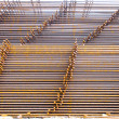 Structural steel in construction. — Stock Photo