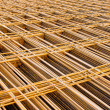 Stock Photo: Structural steel in construction.