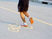 All purpose, walking, jogging riding, bicycle path — Zdjęcie stockowe