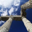 Photograph of the Temple of Trajan located in Turkey. — Stock Photo