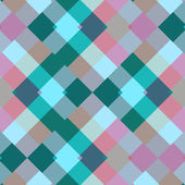 Colorful seamless pattern geometric squares — Stock Vector