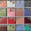 Foto Stock: Coloured soaps