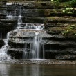 Waterfall at Camp Creek State Park, WV — Stock Photo