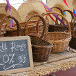 Baskets for Sale — Stock Photo