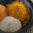Three Indian Spices — Stock Photo