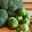 Постер, плакат: Broccoli and Brussel Sprouts