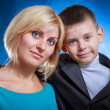Mom with son — Stock Photo