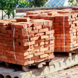 Brick pallet — Stock Photo #31645933