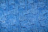 Blue towel background — Stock Photo