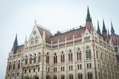 Detail of Budapest Parliament — Stockfoto