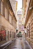 Улица в Будапеште — Стоковое фото