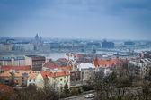 Budapest en día brumoso — Foto de Stock
