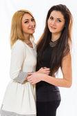 Girlfriends posing — Stock Photo