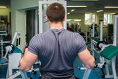 Man in the gym — Stock Photo