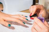 Process of manicure — Stock Photo