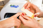 Care of nails — Stock Photo