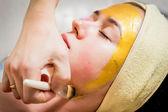 Facial treatment — Stock Photo