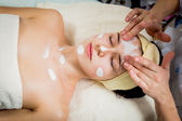 Facial treatment — Stock Photo
