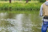 釣り人 — ストック写真