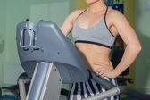 Woman in gym — Стоковое фото