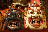 Hindu masks — Stock Photo