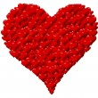 Heart made of hearts for a Valentine's Day or Mother's Day — Stock Photo #39896833