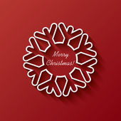 Christmas card vector illustration design — Stock Vector