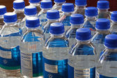 Drinking Water Bottles — Stock Photo