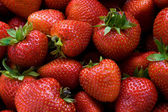 Red, Ripe Strawberries — ストック写真