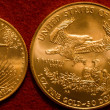 Stock Photo: Gold Bullion Coins