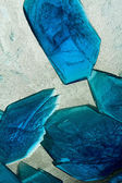 Copper Sulfate Crystals — Stock Photo