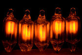 Small Neon Bulbs — Stock Photo