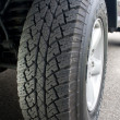 Truck Tire - Showing Tread — Stock Photo #31869033