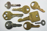 Assortment of Keys — Stock Photo
