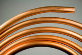 Copper Tubing — Stock Photo