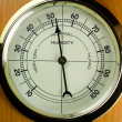 Hygrometer - Air Humidity Gauge — Stock Photo