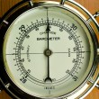 Stock Photo: Barometer - Weather Instrument