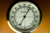 Indoor Dial-type Thermometer — Stock Photo