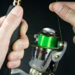 Stock Photo: Fishing Reel