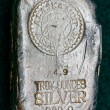 Stock Photo: AlaskMint Assay - Silver Bullion Bar