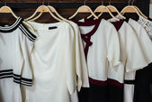 White blouses — Stock Photo