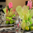 Stock Photo: Elegant table setting