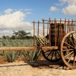 Old traditional mexican trailer — Stock Photo