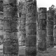Temple of a Thousand Warriors in Chichen Itza, Mexico — Stock Photo
