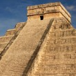 Stock Photo: Mayan pyramid of Kukulkan in Chichen Itza, Mexico