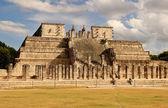 Temple of Warriors in Chichen Itza, Mexico — Stock Photo