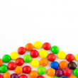 Multicolored candies background — Stock Photo