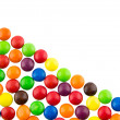 Stock Photo: Multicolored candies background