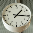 Stock Photo: Airport analog clock